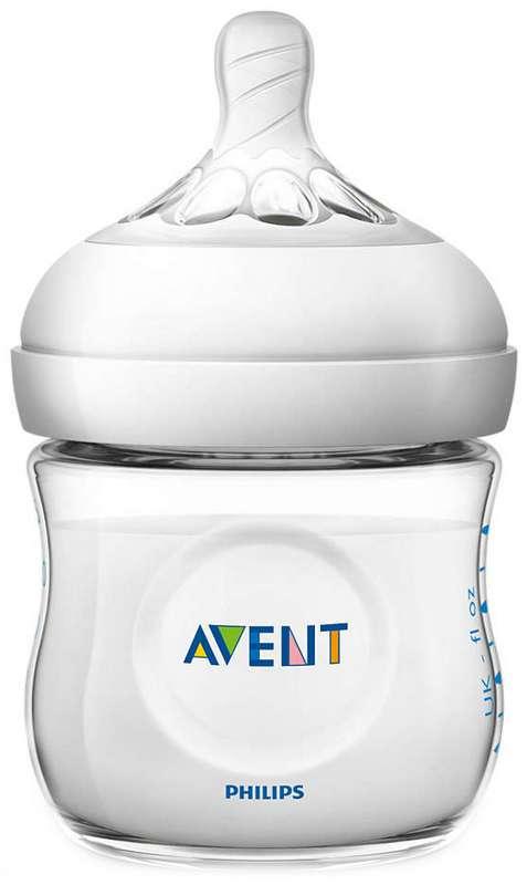 Авент натурель бутылочка для кормления (scf030/17) 125мл, фото №1