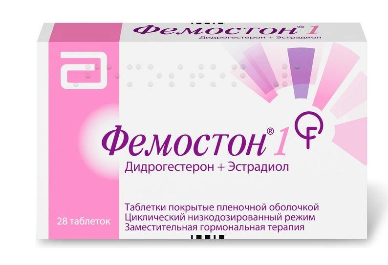 ФЕМОСТОН 1 таблетки 0 28 шт.