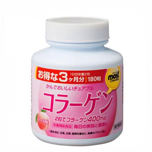 Орихиро коллаген со вкусом персика таб. n180, фото №1