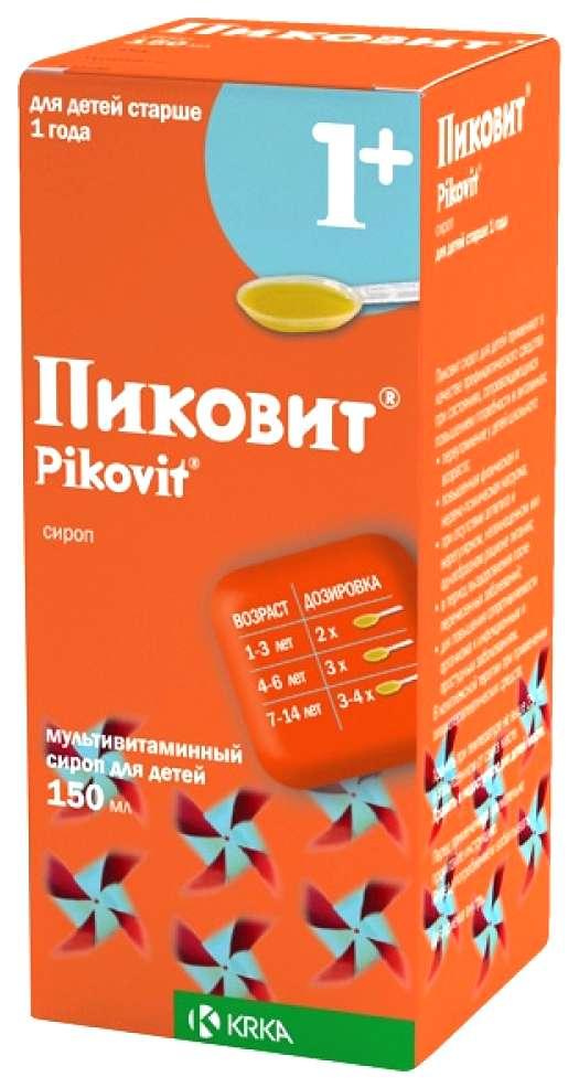 Пиковит 150мл сироп для детей, фото №1