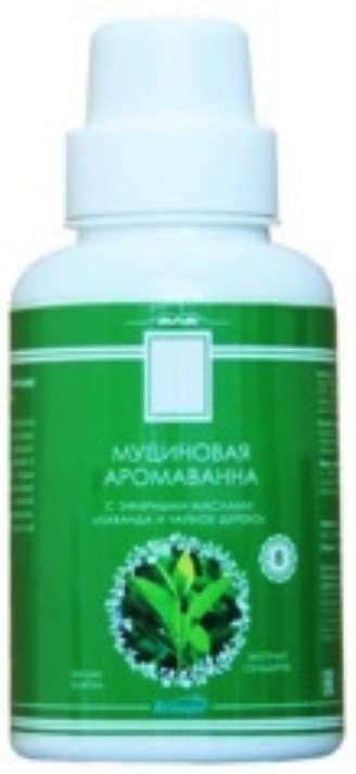 Аспера аромаванна муциновая с эфирными маслами лаванда/чайное дерево 250мл, фото №1