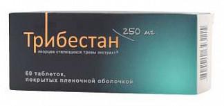 Трибестан 60 шт. таблетки покрытые пленочной оболочкой