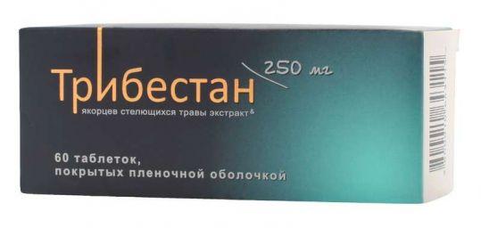 Трибестан 60 шт. таблетки покрытые пленочной оболочкой, фото №1