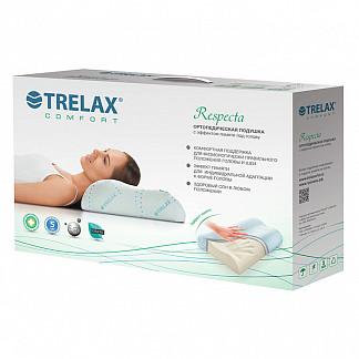 Трелакс подушка ортопедическая п05 респекта с эффектом памяти р. l