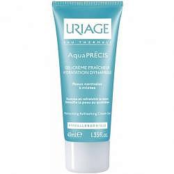 Урьяж аквапреси гель-крем освежающий д/нормальной/комбинированной кожи 40мл