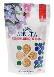 Женская красота семена белого льна 200г