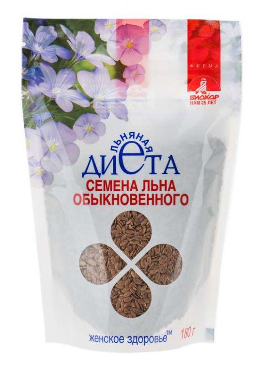 Лен семена биокор женское здоровье 180г, фото №1