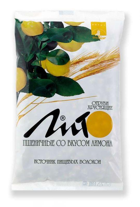 Лито отруби пшеничные хрустящие с кальцием и лимоном 200г, фото №1