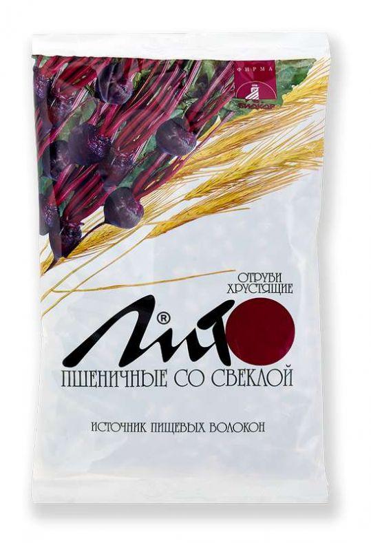 Лито отруби пшеничные хрустящие со свеклой 200г, фото №1