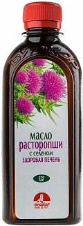 Расторопша масло с селеном 250мл