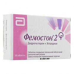 Фемостон 2 28 шт. таблетки покрытые пленочной оболочкой
