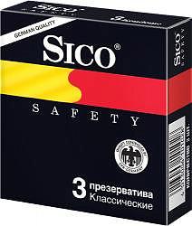 Сико презервативы сафети 3 шт.