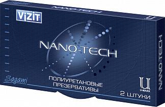 Визит презервативы нано-тэк полиуретановые n2