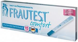 Фраутест комфорт тест для определения беременности в кассете-держателе с колпачком 1 шт.