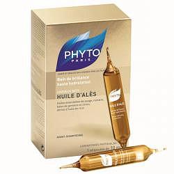 Фито масло алеса для интенсивного увлажнения маслянная баня 10мл 5 шт.
