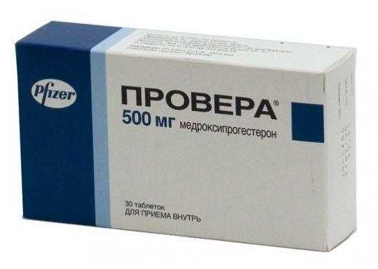 Провера 500мг 30 шт. таблетки, фото №1