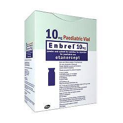 Энбрел 10мг 4 шт. лиофилизат для приготовления раствора для подкожного введения + комплект
