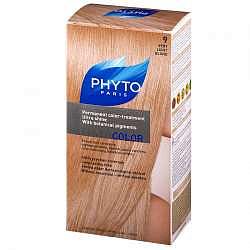 Фито фитоколор краска для волос оттенок 9 очень светлый блонд