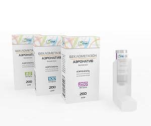Беклометазон-аэронатив 250мкг/доза 200доз аэрозоль для ингаляций дозированный