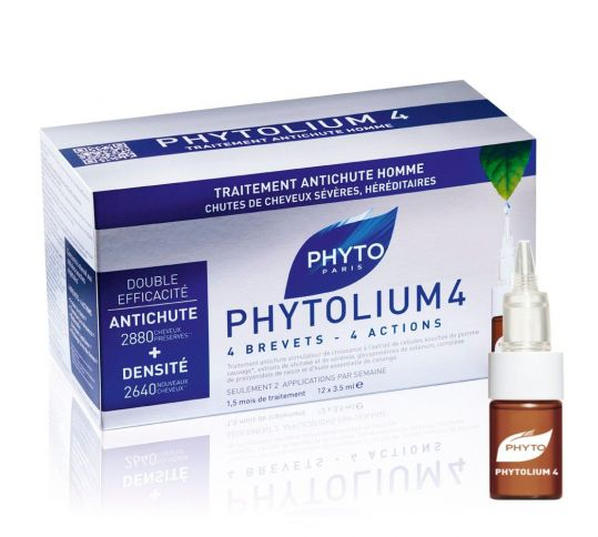 Фито фитолиум 4 сыворотка от выпадения волос 3,5мл 12 шт., фото №1