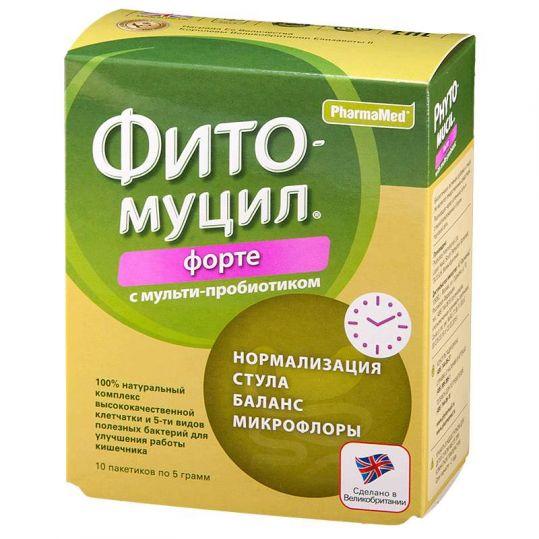 Фитомуцил форте пакеты 10 шт., фото №1
