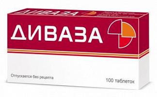 Диваза 100 шт. таблетки для рассасывания
