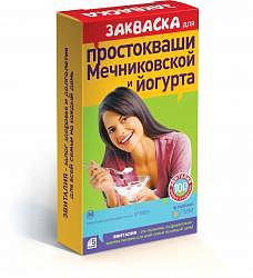 Эвиталия закваска мечниковская простакваша и йогурт 2г 5 шт. пакет