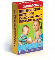 Эвиталия закваска детские диетические бифидопродукты 2г 5 шт. пакет