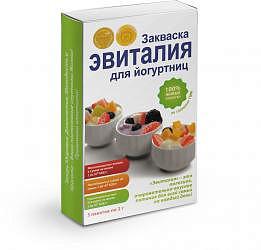 Эвиталия закваска для йогуртниц саше 2г 5 шт.