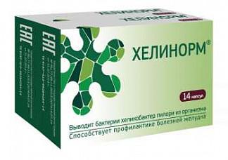 Хелинорм капсулы 14 шт. (1+1)