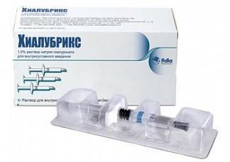Лекарство хиалубрикс цена