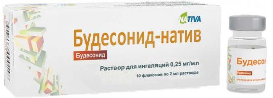 Будесонид-натив 0,25мг/мл 2мл 10 шт. раствор для ингаляций, фото №1