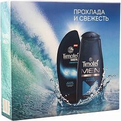 Тимотей набор прохлада и свежесть (шампунь для мужчин+гель для душп+мочалка)