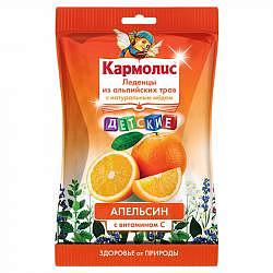Кармолис леденцы детские мед/витамин с/апельсин 75г dr. a.&l. schmidgall