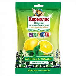Кармолис леденцы детские мед/витамин с/мелисса/лимон 75г dr. a.&l. schmidgall