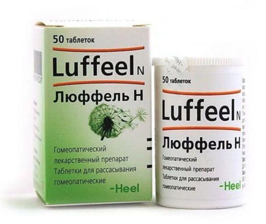 Люффель н 50 шт. таблетки biologische heilmittel heel gmbh, фото №1