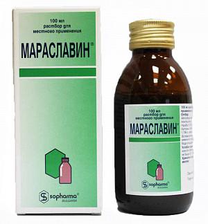 Мараславин 100мл р-р д/местного применения