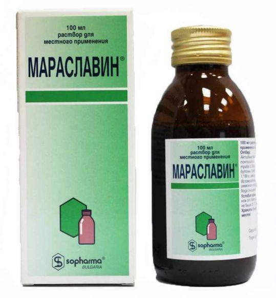 Мараславин 100мл раствор для местного применения, фото №1