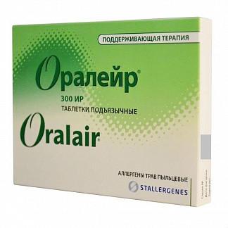 Оралейр 300ир 30 шт. таблетки подъязычные