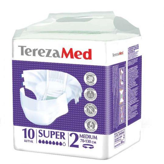 Терезамед подгузники для взрослых супер медиум размер 2 10 шт., фото №1