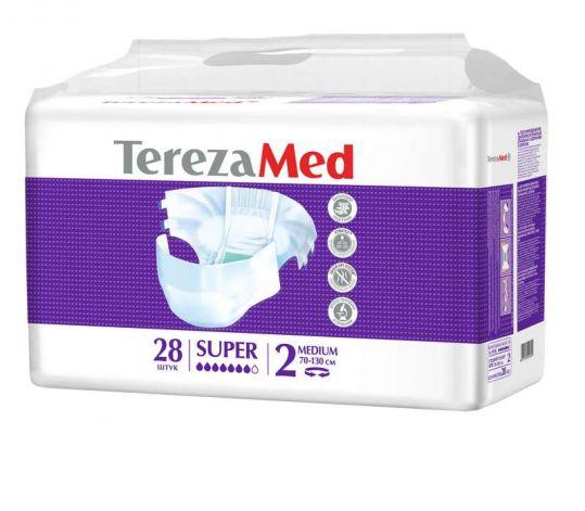 Терезамед подгузники для взрослых супер медиум размер 2 28 шт., фото №1