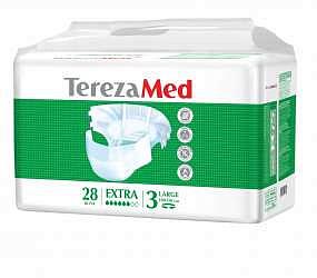 Терезамед подгузники для взрослых экстра ладж размер 3 28 шт.