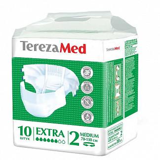 Терезамед подгузники для взрослых экстра медиум размер 2 10 шт.
