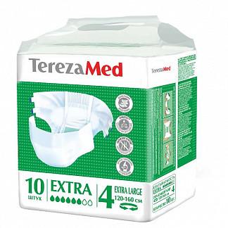 Терезамед подгузники для взрослых экстра экстра ладж p.4 10 шт.