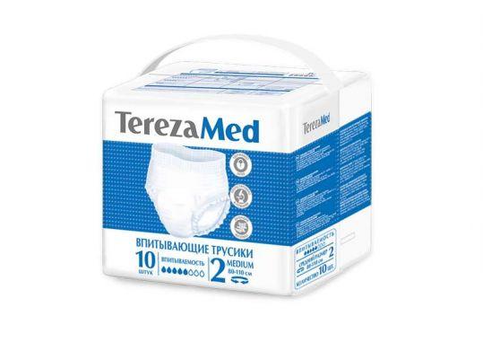 Терезамед подгузники-трусы для взрослых медиум размер 2 10 шт., фото №1