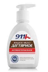 911 мыло жидкое антибактериальное дегтярное 250мл