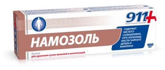 911 намозоль крем для удаления мозолей 100мл, фото №1
