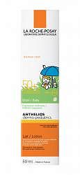 Ля рош позе антгелиос дермо-бейби молочко солнцезащитное для младенцев spf50+ 50мл