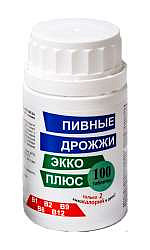 Дрожжи пивные таблетки 100 шт.