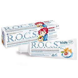 Рокс кидс зубная паста для детей фруктовый рожок без фтора 45г